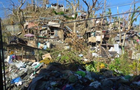 Tacloban efter Haiyan. Foto: MSB